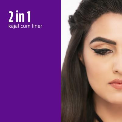 Plum NaturStudio All-Day-Wear Kohl Kajal - Black Brilliance