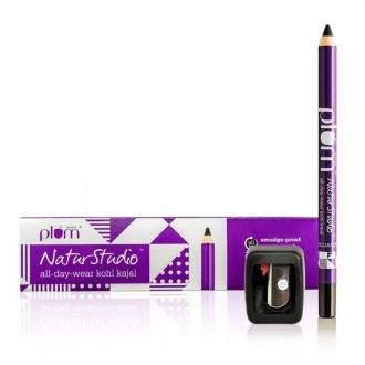 Eye makeup and Kajal – Plum Goodness