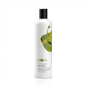 Silicone-free conditioner by Plum Goodness | BlushBeauty Nepal